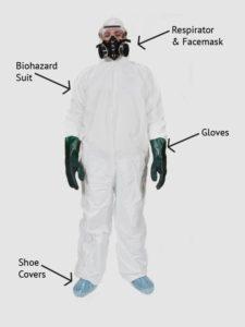 archangels biohazard gear suit