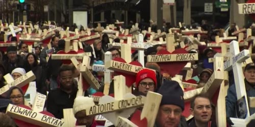 Greg Zanis builds crosses for Chicago homicide victims
